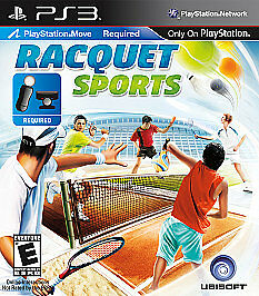 Racquet Sports  (Sony Playstation 3, 2010) Brand New Sealed