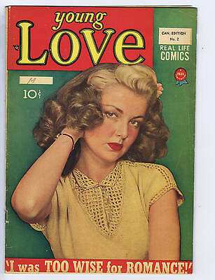 Young Love # 2 Publications Services Pub CANADIAN EDITION