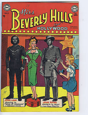 Miss Beverly Hills of Hollywood # 3  Simcoe Pub 1949 CANADIAN EDITION