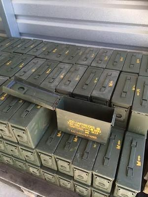 Military Issue Ammo Cans