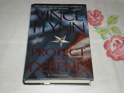 Protect and Defend by Vince Flynn  **Signed**