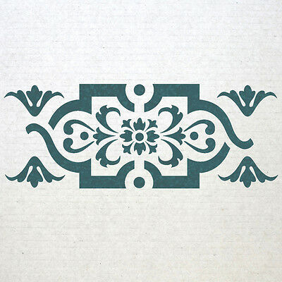 Wall Border stencils Pattern 013 Reusable Template for DIY wall decor