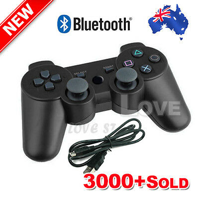 OZ Game Dual Shock Wireless Bluetooth Controller Sixaxis for PlayStation PS3