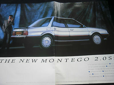 AUSTIN MONTEGO 2.0 Si - 2 page COLOUR ADVERT