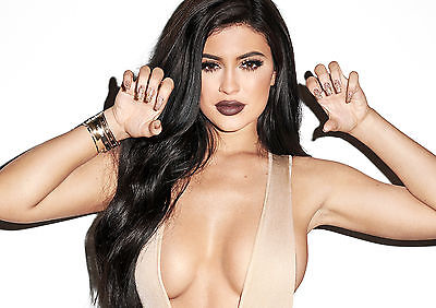 Kylie Jenner Glossy Wall Art Poster Print (A1 - A5 Sizes Available)