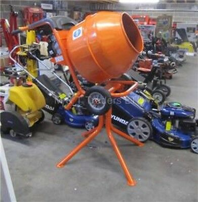 Petrol Cement Mixer.Cement mixer with Stand.Drum Capacity 5 cubic feet. PCM150
