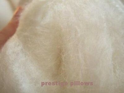 Pair Of Pure Egyptian Cotton Silk Filled 400 T/c Pillows, Feels Like Down Pillow