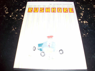 Comedy Movie: Rushmore! Criterion Collection!! Used & In Excellent Condition!!!!