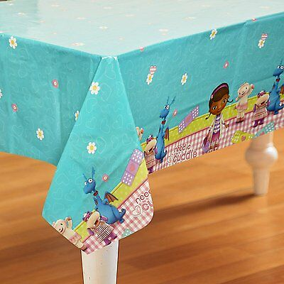 Doc McStuffins Plastic Table Cover Birthday Party Supplies Party Decorations