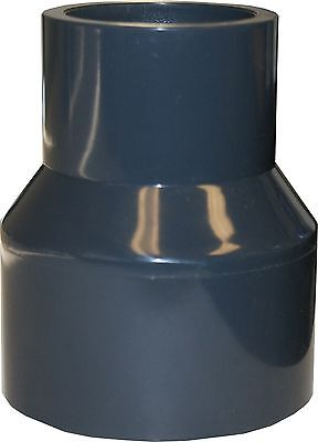 """New Sch 80 Pvc 2"""" X 1"""" (Bell) Reducing Coupling Socket Connect"""