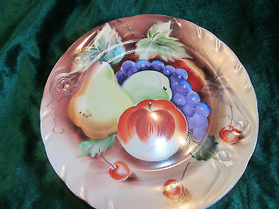 Vintage Lefton Hand Painted Fruit Dish