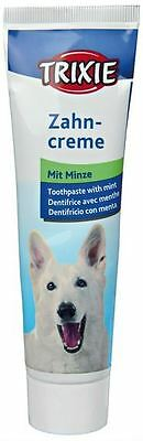 TRIXIE DOG MINT FLAVOURED TOOTHPASTE FOR FRESH BREATH 100g