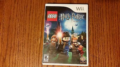 LEGO HARRY POTTER YEARS 1-4 FOR NINTENDO WII