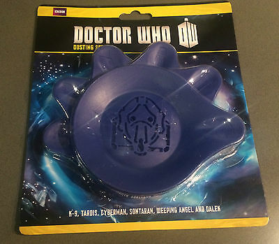 NEW Dr Doctor Who K-9 Cupcakes Birthday Decorating Icing Sugar Dusting Set of 6