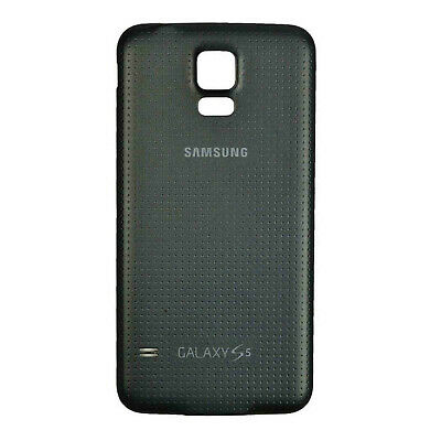 Replacement Black Back Door Battery Cover for Samsung Galaxy S5 SM-G900
