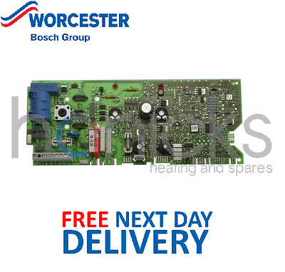 Worcester Bosch 24Si, 28Si MK2 PCB 87483004170 E88-178 Genuine Part *NEW*