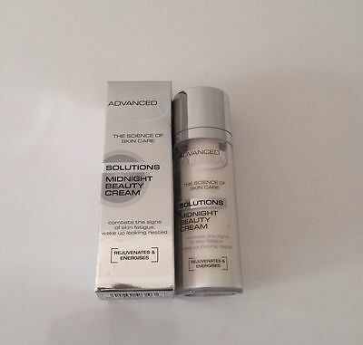 M&S Marks & Spencer ADVANCED FORMULA MIDNIGHT BEAUTY CREAM ANTI AGEING 30ml NEW