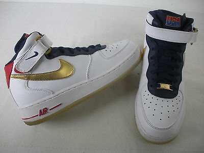 Nike Air Force 1 MID USA OLYMPIC 2012 Release GS size 6.5Y Youth 314195-108
