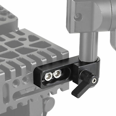 SMALLRIG 15mm Rail Clamp Rod Holder Mount for Camera Monitor Follow Focus 1549