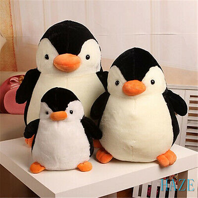 New PENGUIN Stuffed Animal Plush Soft Toys Cute Doll Pillow Cushion Kid gift