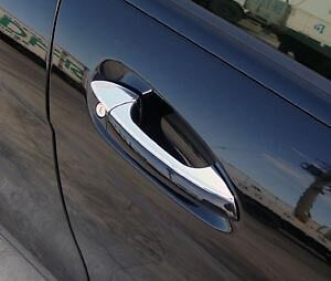 Mercedes Benz C Class W204 Chrome Door Handle Top Trims 2007> Saloon Estate