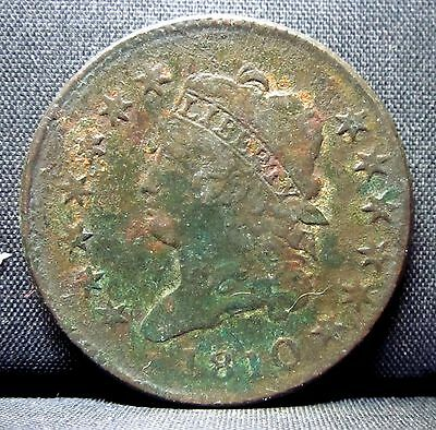 1810 Large Cent ✪ Xf Extra Fine Details ✪ 1C Classic Head L@@k Now ◢Trusted◣