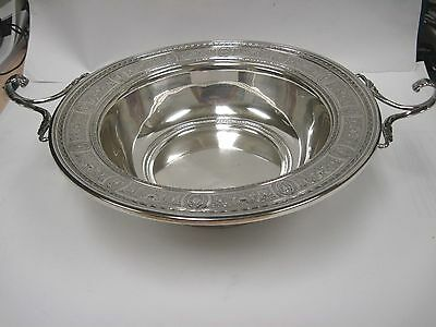 Sterling Silver International Wedgwood Bowl V50A, Centerpiece, Fruit, Wedgewood