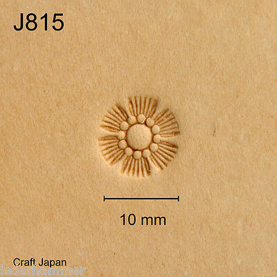 Punziereisen, Lederstempel, Punzierstempel, Leather Stamp, J815 - Craft Japan