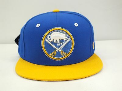 Buffalo Sabres Nhl Adult Flex Fitted Cap Flat Brim New By Zephyr G18