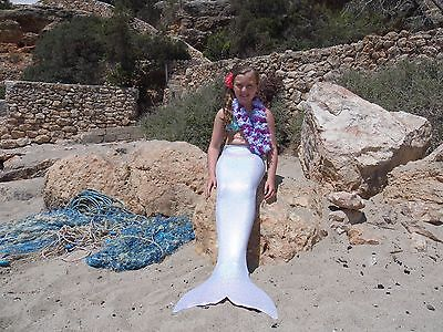 Uk Swimmable Mermaid Tail Fin Costume With Real Monofin