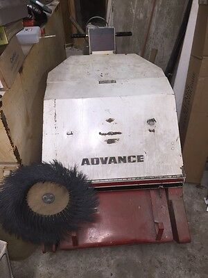 Advance Retriever Walk Behind Floor Sweeper, 360B, 24V, 46 Amp, USED