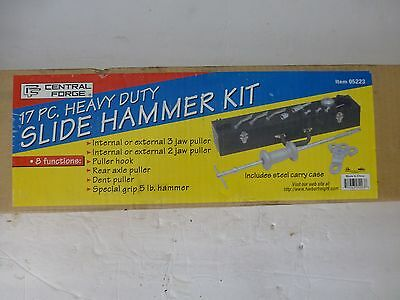 Central Forge 17 Piece Heavy Duty Slide Hammer Kit