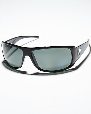 New Mens Electric Charge XL Sunglasses Gloss Black/Grey Lens Sale at BWO