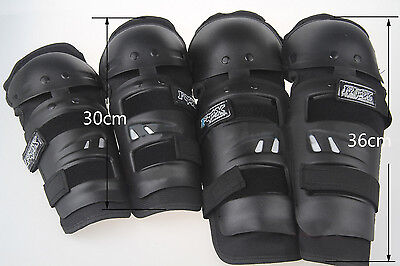 Motorcycle Bike Racing Riding Elbow Knee Pads Protective Gear KNEE/ SHIN GUARDS