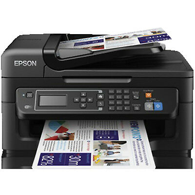 EPSON WorkForce WF-2630WF Tintenstrahl 4-in-1 Tinten-Multifunktionsdrucker WLAN