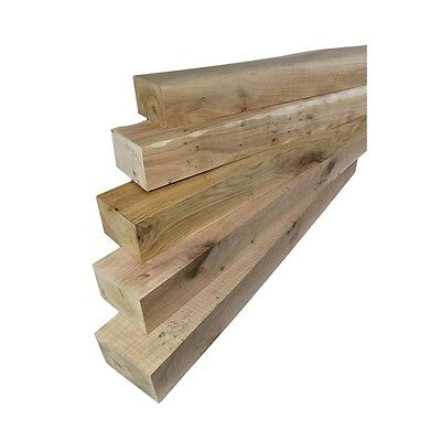 Solid Oak Beam Mantel Piece, Firesurround Lintel, Floating Shelf - FREE DELIVERY