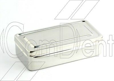 Stainless Steel Box to store Body Piercing Tools & Jewellery*New CE*
