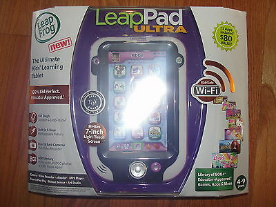 NEW!! LEAP FROG LEAP PAD ULTRA KIDS LEARNING TABLET PURPLE / PINK Leappad