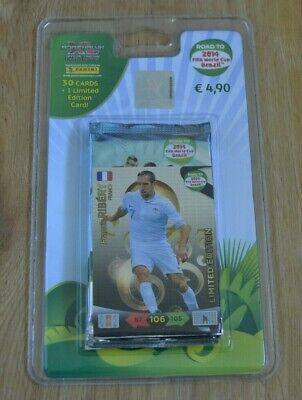 Panini Adrenalyn XL Road to World Cup WM 2014 *Blister limited Edition Ribery*