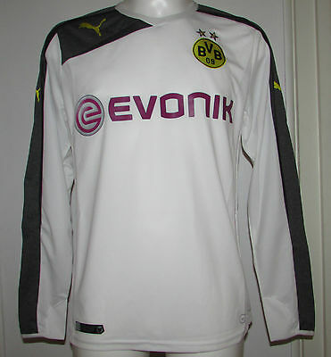 Boys Puma Borussia Dortmund 2014/2015 Ls 3Rd Shirt Various Sizes New With Tags