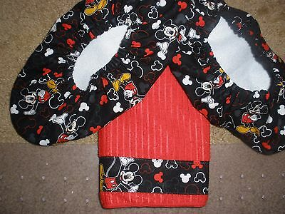 Mickey Mouse Bowling Shoe Covers/towel
