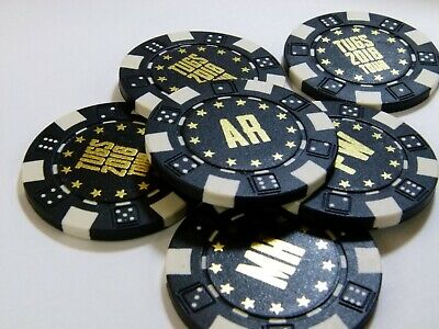 """$ Values Only 0.75/"""" Custom Poker Chip Stickers"""