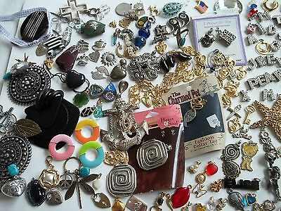 200+ pc charms/pendants for crafts,pre-own cnd,fashion,