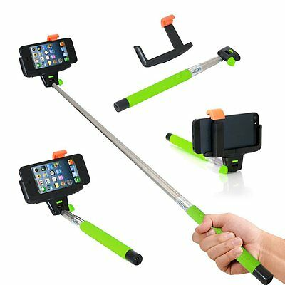 Bluetooth Monopod Telescopic Selfie Stick for Mobile Phone iPhone Camera Holder