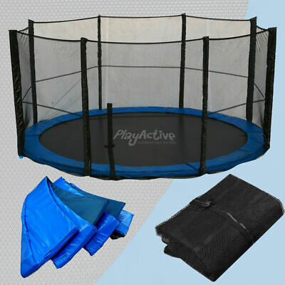 Trampoline Replacement Rain Cover, Spring Cover, Jump Mat Safety Net All Sizes