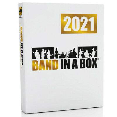 PG Music Band in a Box MegaPak 2020 PC Windows Mega Pack Music Software