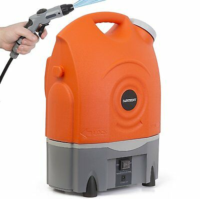 Ivation Multipurpose Portable Smart Washer/Shower-Built In Rechargeable Battery