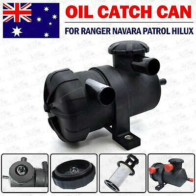 Oil Catch Can 200 Pro Paper Filter for Hilux Landcruiser Turbo Patrol Diesel D40