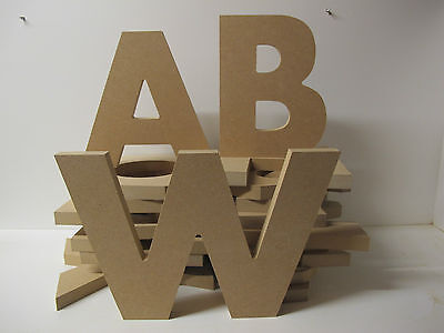 Wooden Numbers Premium Quality 160mm High 18mm Thick Victorian Font