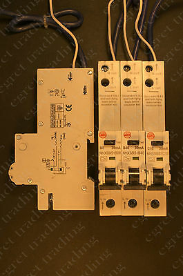 Wylex  30mA RCBO NHXSBS1 Range Circuit breaker - TESTED - NEW